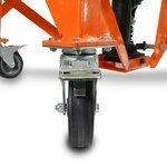 Hydraulic Scissor Lift Dolly ConStands Moto Cross XL + Castors Orange Pic:9
