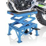 Hydraulic Scissor Lift ConStands Moto Cross XL Blue Pic:3