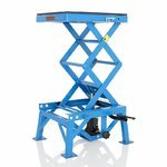 Hydraulic Scissor Lift ConStands Moto Cross XL Blue Pic:4