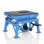 Hydraulic Scissor Lift ConStands Moto Cross XL Blue Pic:5