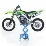 Hydraulic Scissor Lift ConStands Moto Cross XL Blue