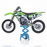 Hydraulic Scissor Lift ConStands Moto Cross XL Blue Pic:1