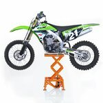 Leve Moto Cross Hydraulique ConStands XL Orange