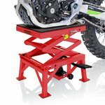 Hydraulic Scissor Lift Dolly ConStands Moto Cross XL Red Pic:3
