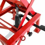 Hydraulic Scissor Lift Dolly ConStands Moto Cross XL Red Pic:6