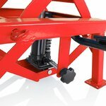 Hydraulic Scissor Lift Dolly ConStands Moto Cross XL Red Pic:7