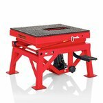 Hydraulic Scissor Lift Dolly ConStands Moto Cross XL Red Pic:5