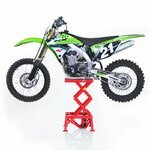 ConStands Hydraulik Hebebühne Moto Cross Lift XL Rot