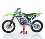 ConStands MX Cavalletto Alza Moto Sposta per Motocross, Enduro, Supermoto, Trial arancio