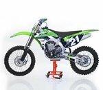 ConStands MX Mover Bequille d'Atelier de Rangement pour Moto Cross, Supermotard, Enduro, Trial orange