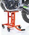 ConStands MX Ständer Mover Rangierhilfe für Motocross, Supermoto, Enduro, Trial orange Pic:1
