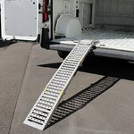 Constands loading ramp steel, max. 300 kg, folding, for motorbike, scooter, quad, ATV Pic:3