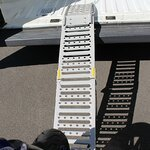 Constands loading ramp steel, max. 300 kg, folding, for motorbike, scooter, quad, ATV Pic:7