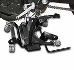 Motorrad Rangierplatte für Hauptständer ConStands schwarz Pic:1