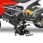 Motorrad Rangierplatte für Hauptständer ConStands schwarz Pic:2