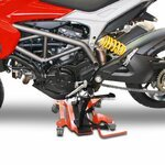 Motorcycle Centre Stand Mover Dolly Constands red Pic:2