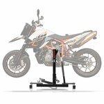 Center Paddock Stand Lift ConStands Power Evo for KTM 950 Supermoto SM/ R 05-08 grey
