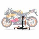 ConStands Power Evo-Zentralständer Honda CBR 1000 RR Fireblade 04-07 Orange Motorrad Aufbockständer Montageständer Heber
