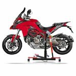 Center Paddock Stand Lift ConStands Power Evo Ducati Multistrada 1260 S/ D-air 18-19 red Pic:1