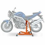 Center Paddock Stand Lift ConStands Power Suzuki SV 1000/ S 03-08 orange
