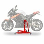 ConStands Power Classic-Zentralständer Kawasaki Z 1000 10-13 Rot Motorrad Aufbockständer Heber Montageständer