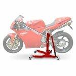 ConStands Power Classic-Zentralständer Ducati 916 94-98 Rot Motorrad Aufbockständer Heber Montageständer