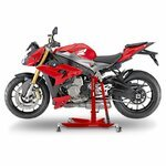 Center Paddock Stand Lift ConStands Power for BMW S 1000 R 17-19 red Pic:1