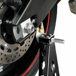 Rear Paddock Stand ConStands Superlight Racing Black Pic:5