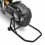 ConStands Rear Paddock Stand Ducati Multistrada 1000 03-06 black mat, Single Swing Arm, adaptor incl. Pic:2