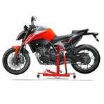 Center Paddock Stand Lift ConStands Power Evo for KTM 1290 Super Duke/ R 17-19 red Pic:1