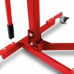 Center Paddock Stand Lift ConStands Power Evo for KTM 1290 Super Duke/ R 17-19 red Pic:5