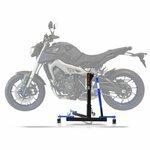 ConStands Power Evo-Zentralständer Yamaha MT-09 13-19 Blau Motorrad Aufbockständer Montageständer Heber