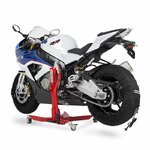 Motorcycle Tyre Warmers ConStands Superbike 60-80 C Set Black Pic:6
