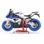 Motorcycle Tyre Warmers ConStands Superbike 60-80 °C Set Blue Pic:5