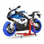 Motorcycle Tyre Warmers ConStands Superbike 60-80 °C Set Blue Pic:7