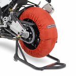 Motorcycle Tyre Warmers ConStands Superbike 60-80 °C Set Orange