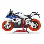 Motorrad Reifenwärmer ConStands Superbike 60-80 °C Set Orange Pic:5