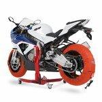 Motorrad Reifenwärmer ConStands Superbike 60-80 °C Set Orange Pic:6