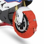 Motorcycle Tyre Warmers ConStands Superbike 60-80 °C Set Orange Pic:1