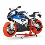 Motorrad Reifenwärmer ConStands Superbike 60-80 °C Set Orange Pic:7