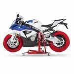Motorrad Reifenwärmer ConStands Superbike 60-80 °C Set Rot Pic:5