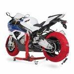 Motorrad Reifenwärmer ConStands Superbike 60-80 °C Set Rot Pic:6