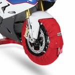 Motorrad Reifenwärmer ConStands Superbike 60-80 °C Set Rot Pic:1