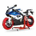 Motorrad Reifenwärmer ConStands Superbike 60-80 °C Set Rot Pic:7