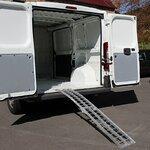 Constands aluminium loading ramp  II, max. 340 kg, folding, for motorbike, scooter, quad, ATV Pic:5