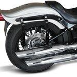 Motorcycle Hard saddlebags Craftride Michigan 18l + brackets Pic:7
