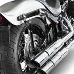Motorcycle Hard saddlebags Craftride Michigan 18l + brackets Pic:8