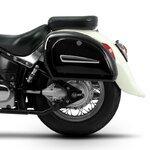 Motorcycle Hard saddlebags Craftride Michigan 18l + brackets Pic:1
