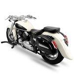 Motorcycle Hard saddlebags Craftride Michigan 18l + brackets Pic:3