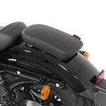 Pillion Seat Pad Suction Cup for Custom Bikes Craftride Glider X black